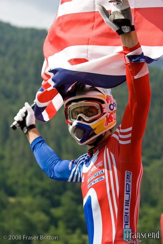 The National Champion's Jerseys is not the same at the National Team kit which is worn once a year at Worlds and only in the race, not in training.