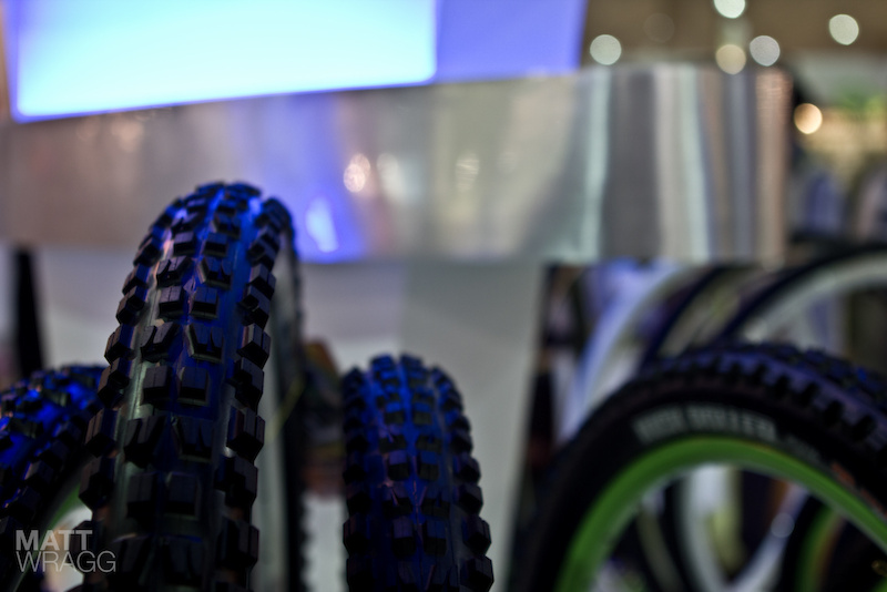 Maxxis Highroller II Minion DHF 29er tires - Taipei Cycle Show 2012